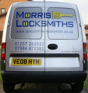 morris locksmiths van
