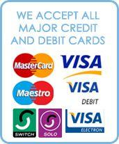 Payment cards accepted for Morris Locksmiths services, Chorley, Lancashire