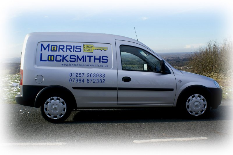 morris locksmith van